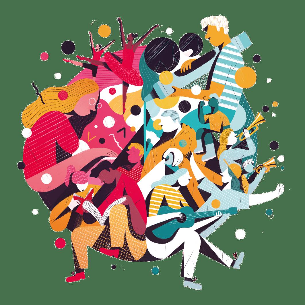 Cruinniú na nóg illustration